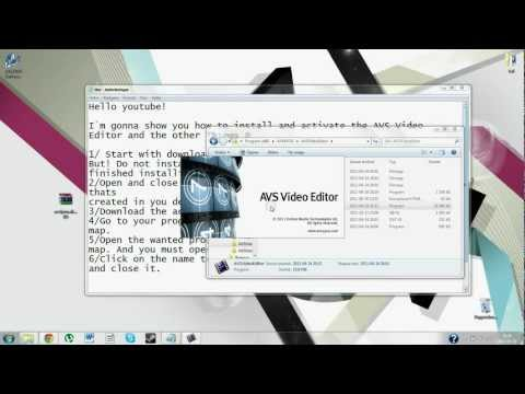 How to Activate AVS Video Editor