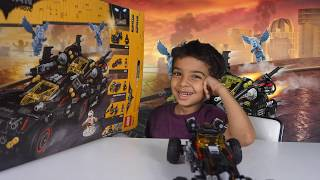 The Best Lego Set Ever? The Ultimate Batmobile set#70917 ft Arkham Asylum unboxing and play test