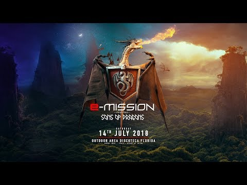 14-07-2018 - E-Mission Outdoor Festival - Sons of Dragons - Teaser [HD]