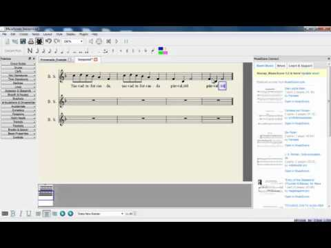 how to add rit in musescore