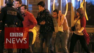 Paris Attacks: Montage of events - BBC News