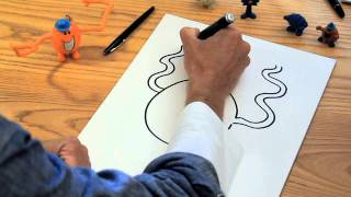 How to Draw the Mr Men Characters - Mr Tickle