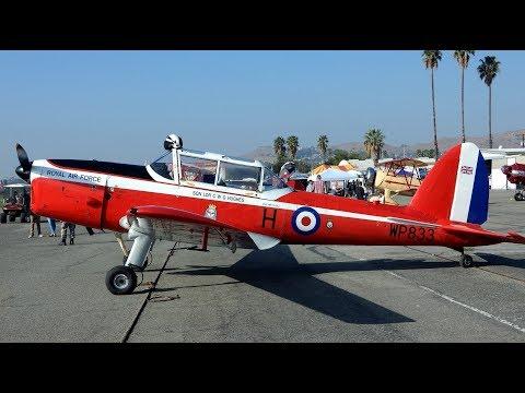 De Havilland DHC-1 Chipmunk at Flabob Airport Veterans Day Celebration 2017