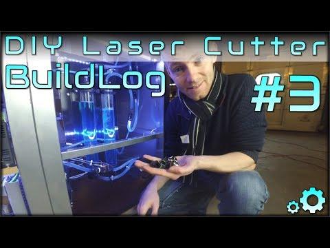 DIY Laser Cutter Buildlog - Part3 - Water Cooling, Third Time