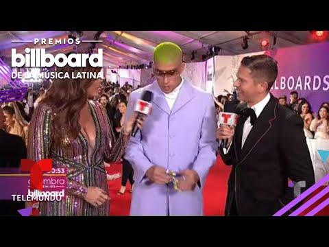 Bad Bunny sorprende una vez más con su look | Premios Billboard 2019