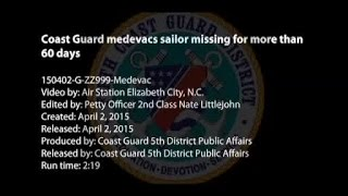 Coast Guard rescue of sailor missing since January
