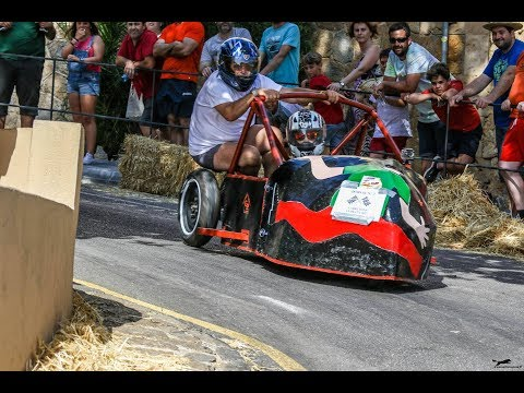 CARRETONS PUIGPUNYENT 2017 soapbox derby accidentes carrilanas crashes gravity racing descenso