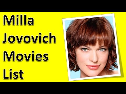 Milla Jovovich Movies ... Milla Jovovich Movies