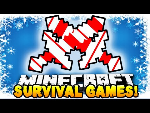 Minecraft - CHRISTMAS HUNGER GAMES MAP! - w/ Preston