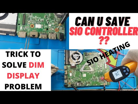 Dell 3542 Dim Display Solved With Unique Trick | Online Laptop Repairing Training Course | Laptex