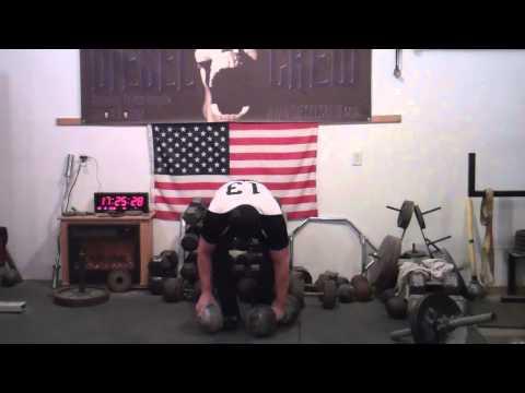 Grip Strength - Endurance Training - Inch Dumbbell + Blob