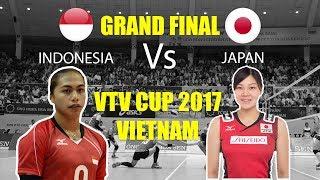 GRAND FINAL!!! Aprilia Manganang Vs Japan | VTV Cup 2017 Vietnam