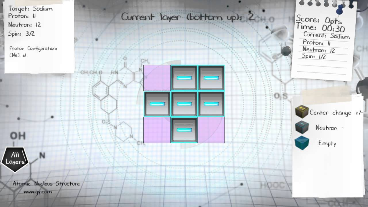how to build sodium nucleus na 23 [ 1280 x 720 Pixel ]