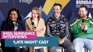 Mindy Kaling, Amy Ryan, Reid Scott, Paul Walter Hauser & Nisha Ganatra Talk 'Late Night' at Sundance