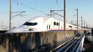 【JR東日本】新幹線高速通過! ニューシャトル志久駅にて