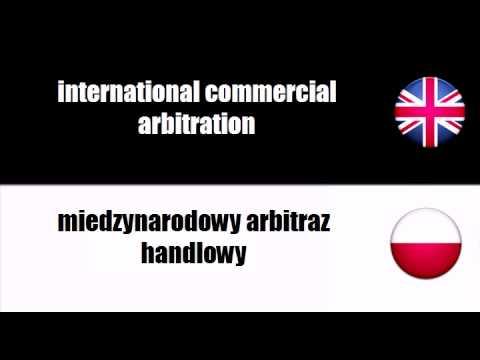 ENGLISH POLISH   commercial arbitration