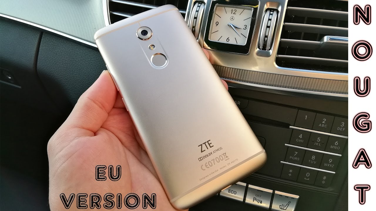 ZTE Axon 7 European 7 0 Nougat Review