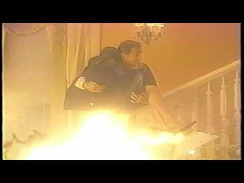 AMC Ryan Lavery saves Chris Stamp in fire