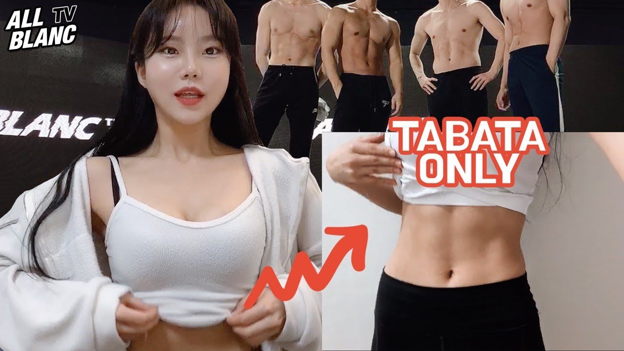 [EN] 2주 만에 타바타로 복근 만들기 | Challenge to make abs with TABATA