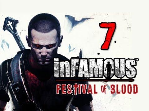 Infamous 2 Festival of Blood DLC: Walkthrough Part 7 Last Blood Jar Let's Play Gameplay
