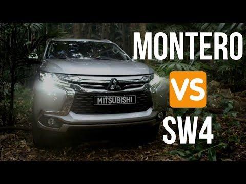 Toyota SW4 VS Mitsubishi Montero Sport Dif cil Decisin
