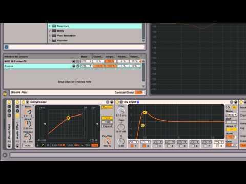 Ableton Live - Herramientas 18 : Vistazo al Compressor