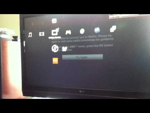 Netflix NOT Working ON PS3!! NEED HELP