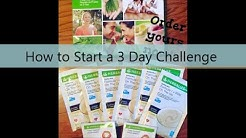 Herbalife 3 Day Challenge Instructions