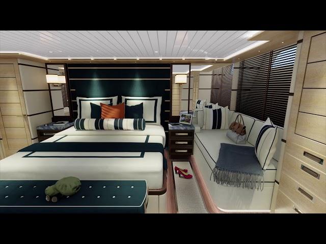 Owner's Suite Sneak Peek - III Amigos Sportfishing Yacht