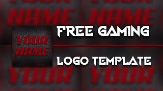 Free Gaming Logo Template #4 | D.U. Arts