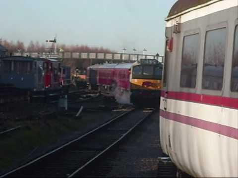 Great Central Railway Nottingham Santa Specials December 6 2008