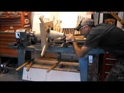 Woodturning - Poplar Segmented Vase