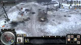 Company of Heroes 2 - Walkthrough Gameplay - General - 12. Poznan Citadel [Part 1]