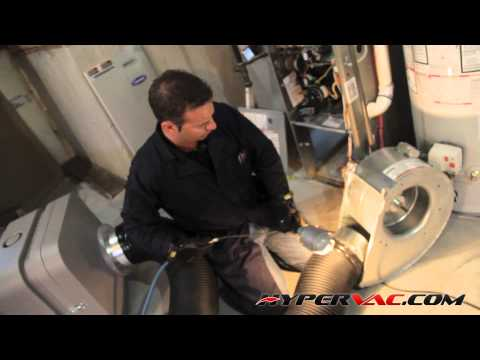 10.0 CLEAN THE BLOWER, FURNACE, REHEAT COIL (Hypervac Duct Cleaning - Basic Training Series)