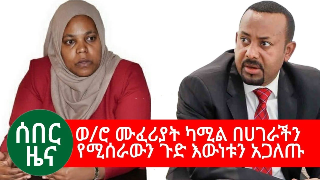 Muferiat Kemal About The Current Situation Of Ethiopia
