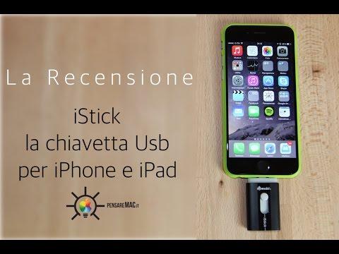Recensione iStick, la prima chiavetta USB per iPhone e iPad