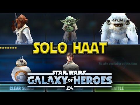 Solo Heroic AAT Raid - Star Wars: Galaxy Of Heroes - SWGOH
