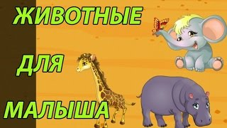 Животные для малышей пазлы.As they say the animals collect puzzle