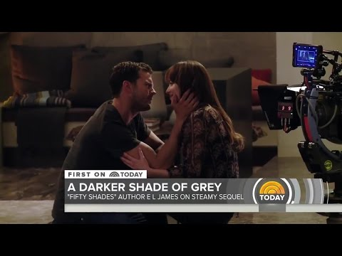 Fifty Shades Darker Behind the Scenes from the Today Show