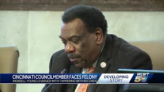 Cincinnati Councilman Wendell Young charged with tampering with records