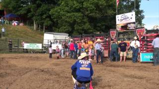 Mutton bustin -  Jane Lew, West Virginia, Spiker Farm Bull Riding
