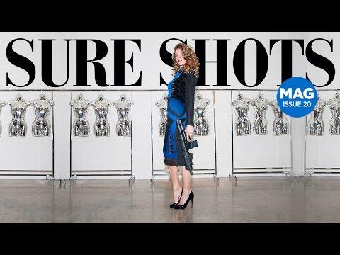 Amy Robbins Sure Shots Magazine 20th Edition | Behind the Scenes