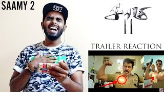 Saamy 2 Official Trailer Reaction & Review - Saamy Square Trailer | Chiyaan Vikram | Hari | DSP 🤗