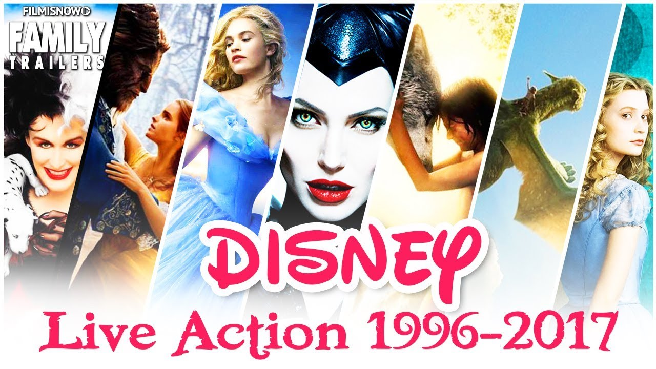 EVERY DISNEY LIVE-ACTION MOVIE - Which one is your ...