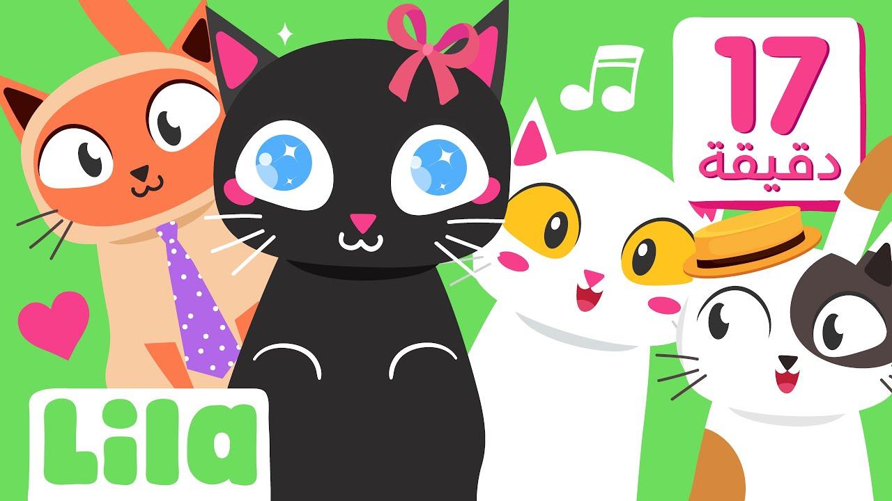 تلات بسينات، أغنية عندي بيسي ? وغيرها من أجمل اغاني القطط و فيديوهات للأطفال