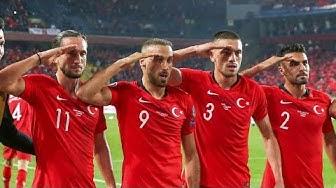 Wegen Jubel: Ermittlungen gegen türkische Nationalmannschaft !