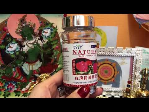 Купить Эфирное масло розы в капсулах - Интернет магазин Вековой Восток