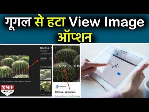 Image Copyright को लेकर Google ने हटाया View Image का Option