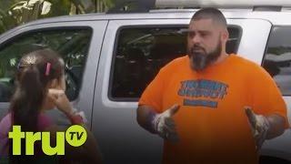 South Beach Tow - Japanese Girl Gets Car Towed