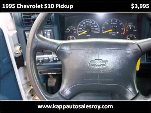 1995 Chevrolet S10 Pickup Used Cars Roy Ut Youtube